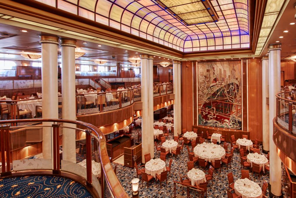 Camarote Restaurante Britannia - Queen Mary 2