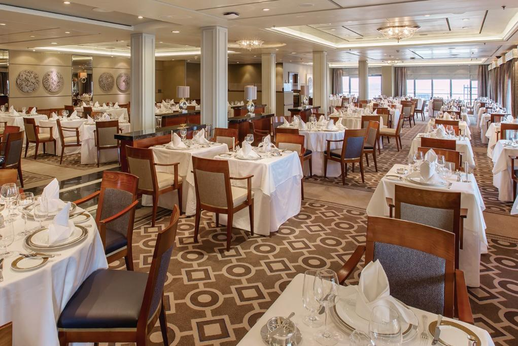 Camarote Restaurante Princess Grill - Queen Mary 2