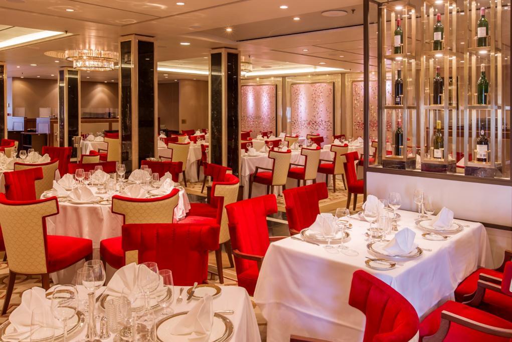 Camarote Restaurante Queens Grill - Queen Mary 2