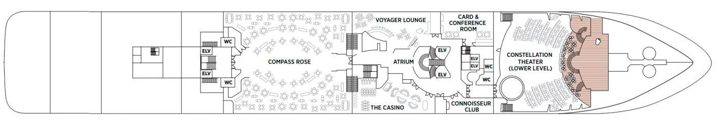 Cubierta 4 Seven Seas Voyager
