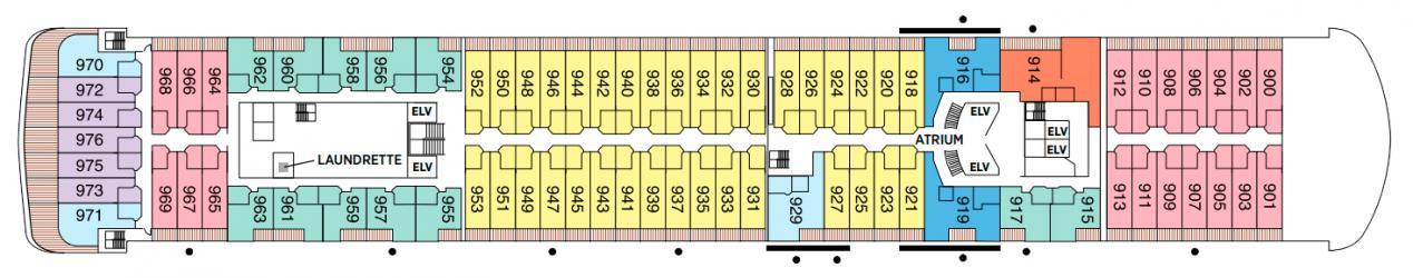 Cubierta 9 Seven Seas Voyager