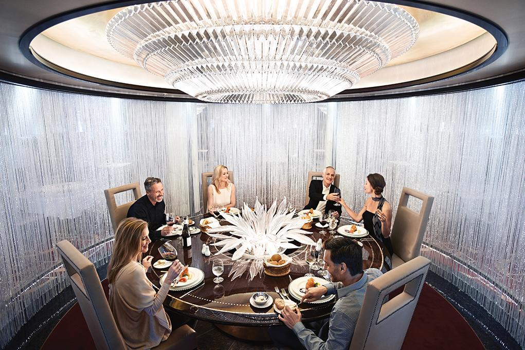 Restaurante-Chefs-Table Regal Princess