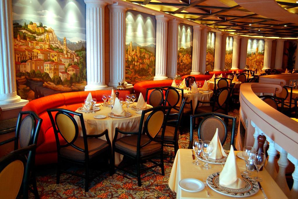 Camarote 3 restaurantes principales - Regal Princess