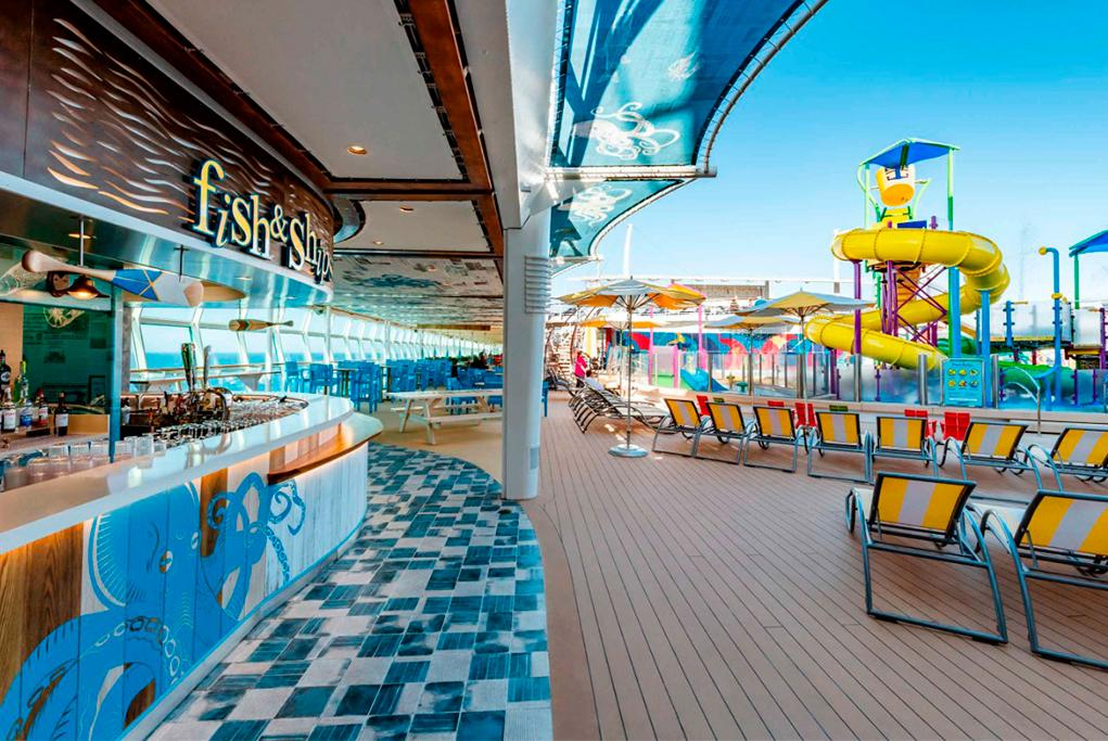 Restaurante Fish & Ships Independence of the seas