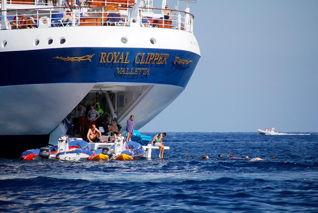 Camarote Actividades acuáticas - Royal Clipper