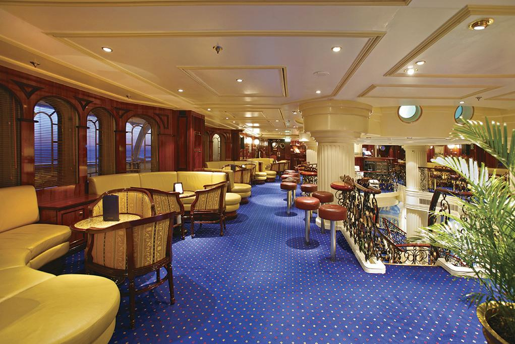 Camarote Piano Bar - Royal Clipper