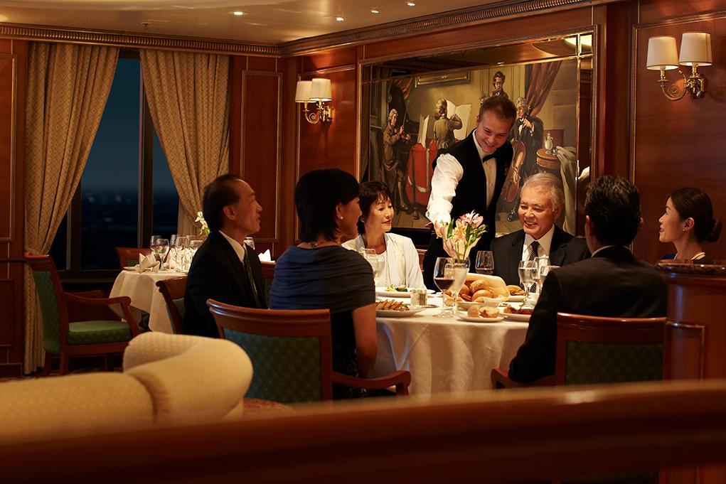 Restaurante-Vivaldi Sapphire Princess