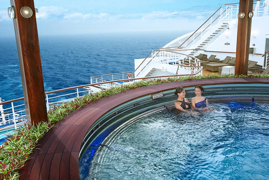 Jacuzzi The Sanctuary Sapphire Princess