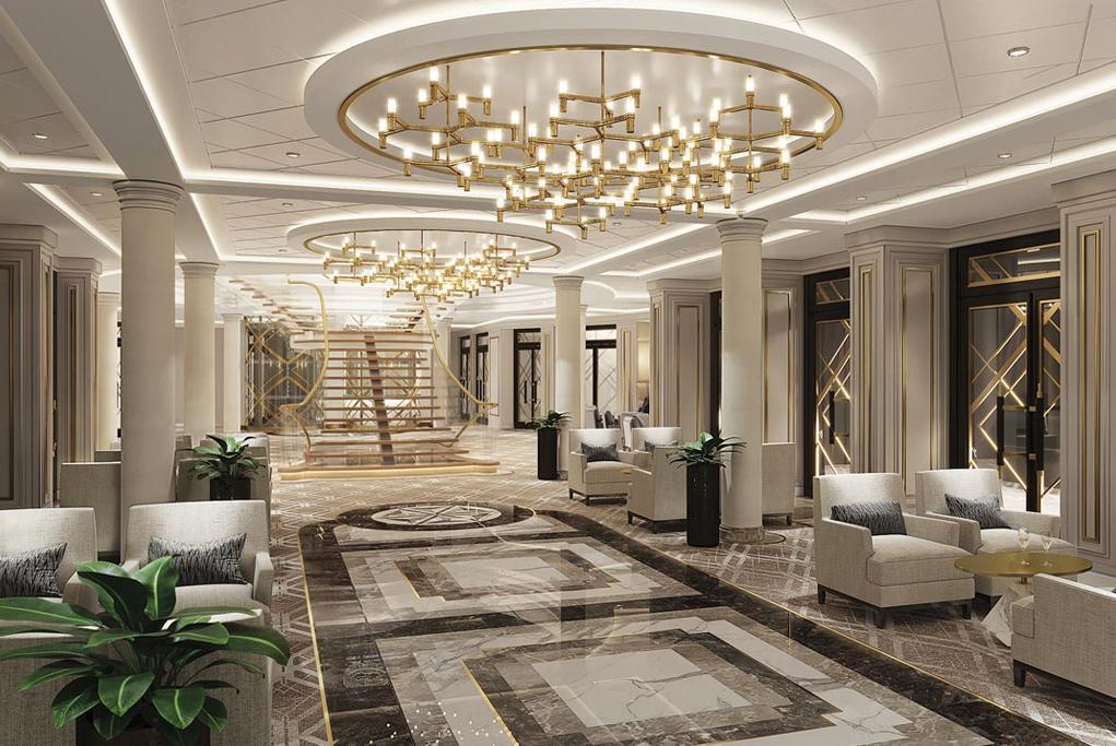 Camarote Atrium - Seven Seas Splendor
