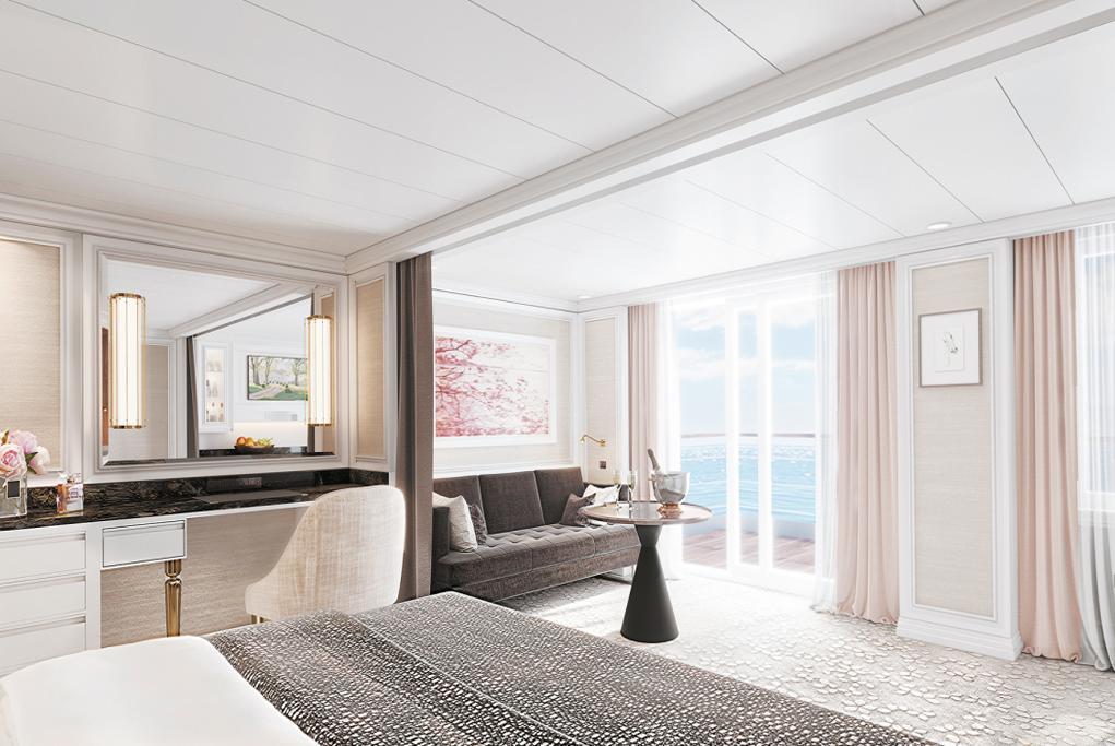 Balcón Conserje Seven Seas Splendor