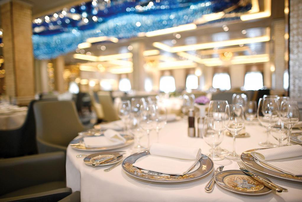 Restaurante Compass Rose Seven Seas Splendor