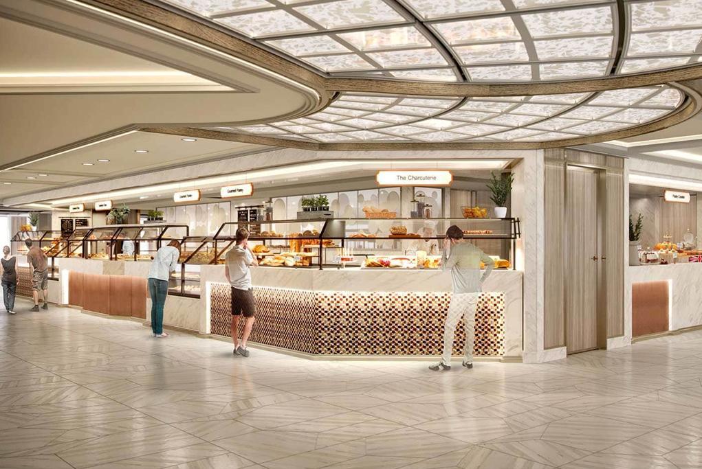 Buffet World Fresh Marketplace Sky Princess