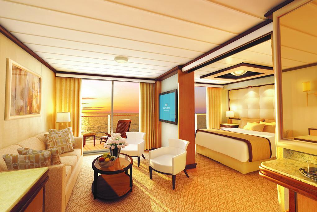 Camarote Suite Penthouse Sky Princess