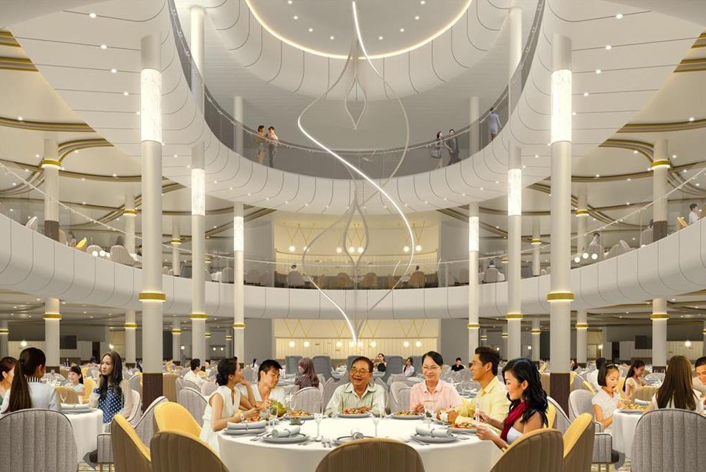 Camarote Gran restaurante principal - Spectrum of the Seas
