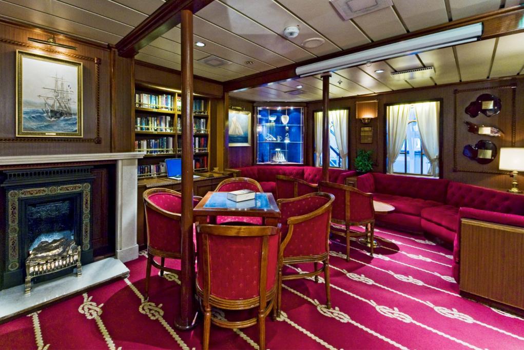 Camarote Biblioteca - Star Clipper