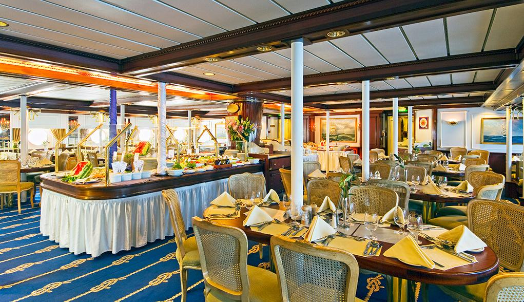 Restaurante-Principal Star Clipper