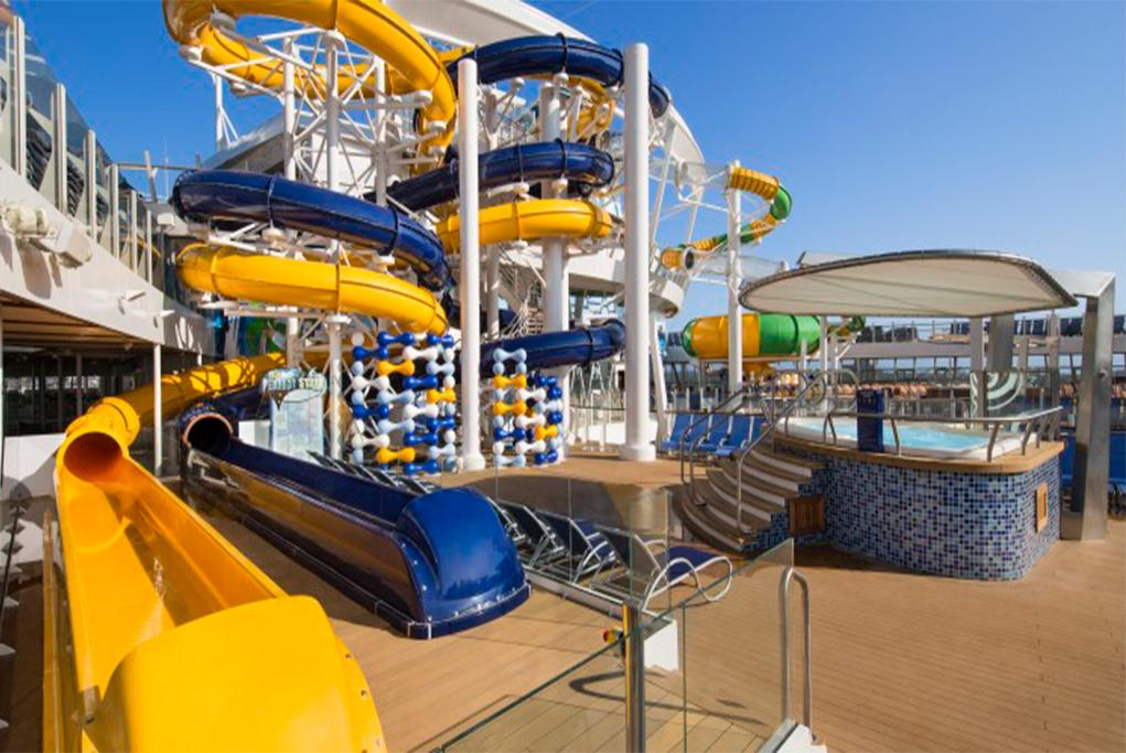 The Perfect Storm Oasis of the seas