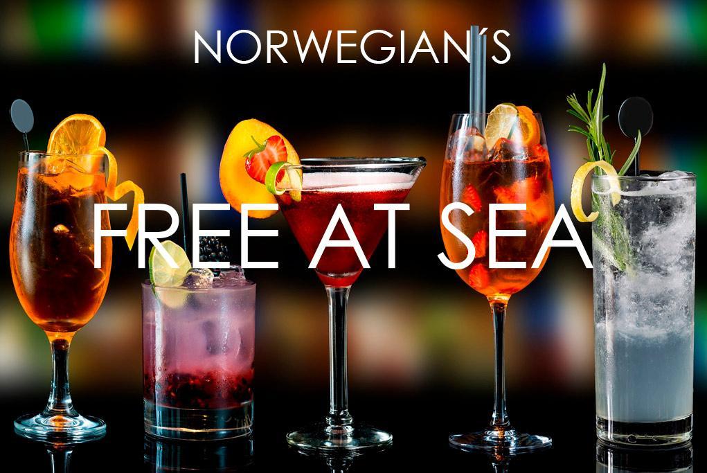 Free At Sea - Norwegian Cruise Line
