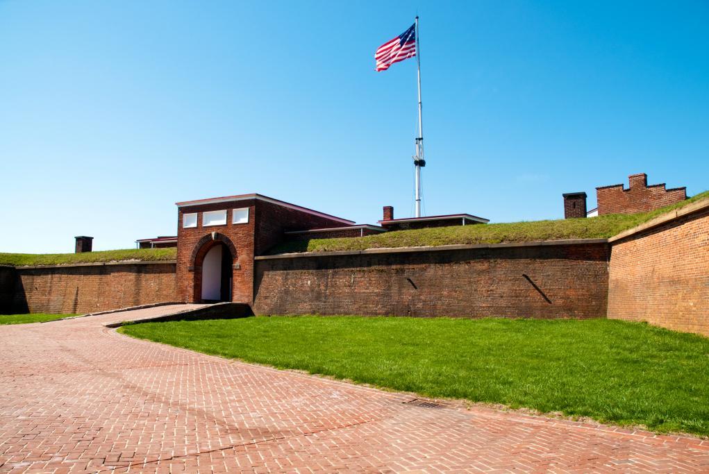Monumento Nacional Fort McHenry - Baltimore