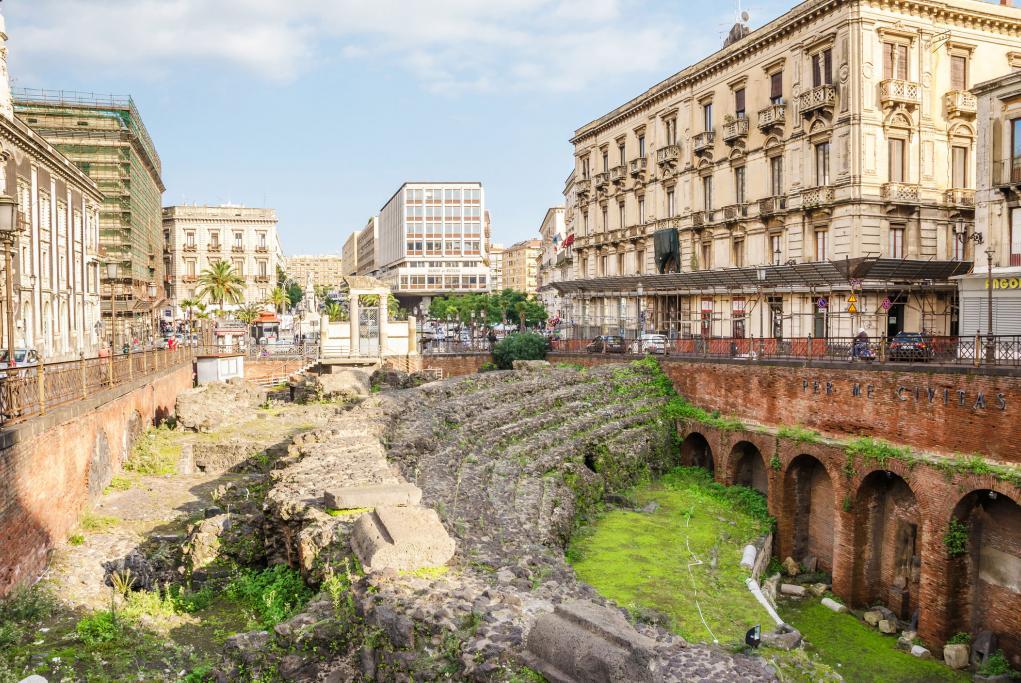Anfiteatro romano - Catania - Sicilia