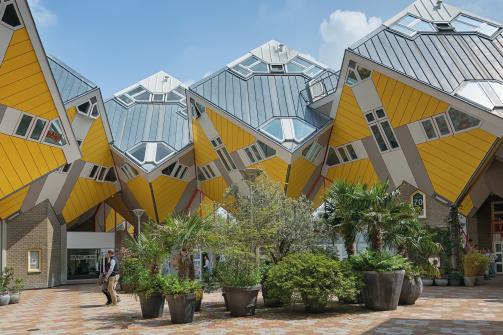 Casas Cúbicas de Rotterdam - Rotterdam
