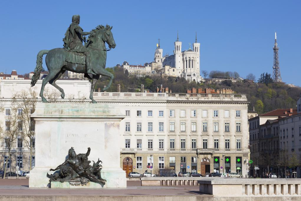Plaza de Bellecour - Lyon