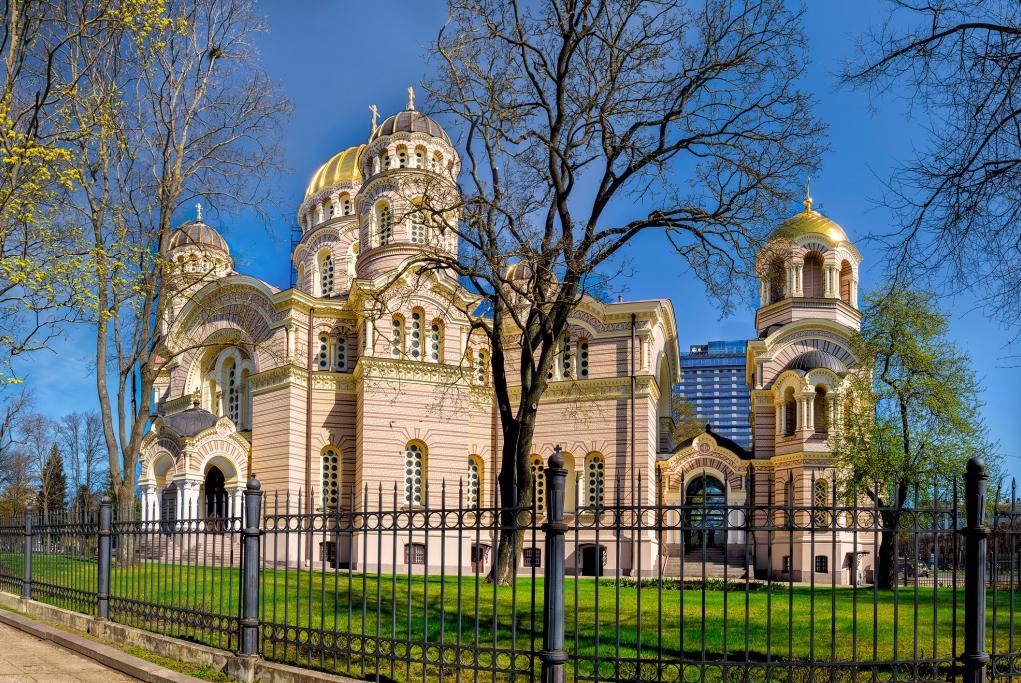 Catedral Ortodoxa de la Natividad - Riga