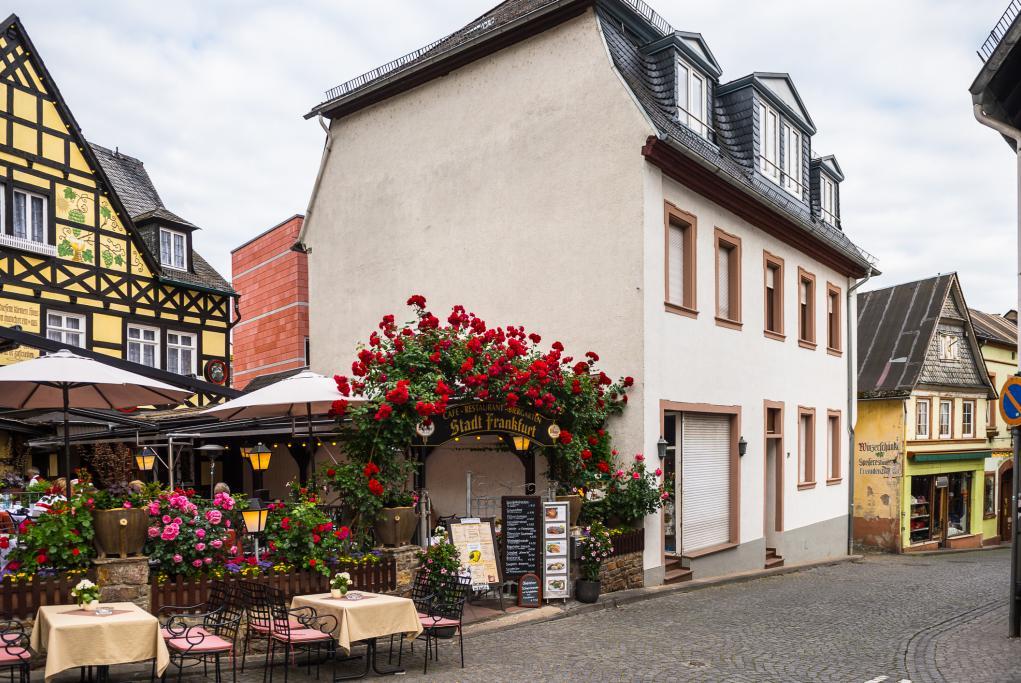 Calle Drosselgasse - Rudesheim