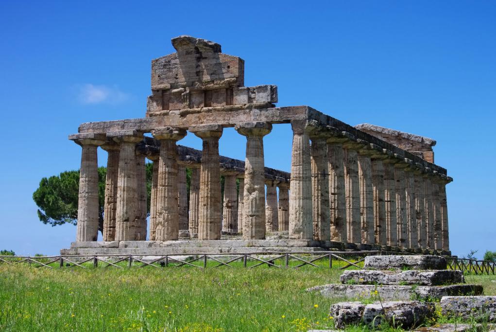 Ruinas de Paestum - Salerno