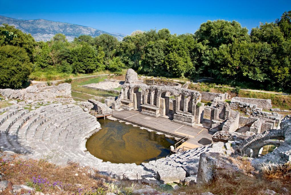 Ruinas romanas de Butrinto - Saranda