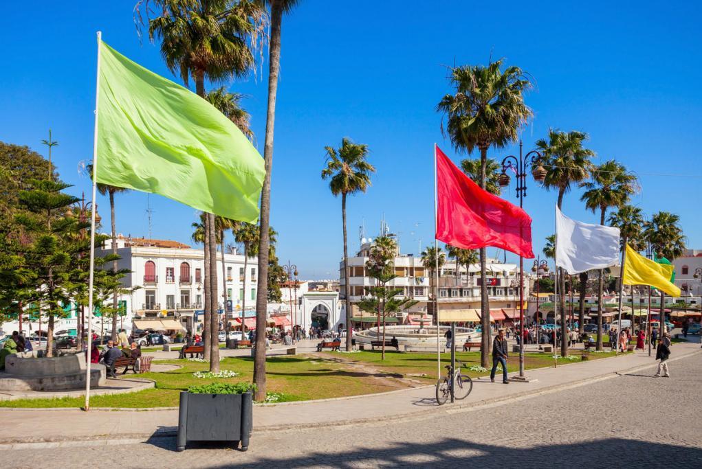 Plaza 9 de abril - Tanger