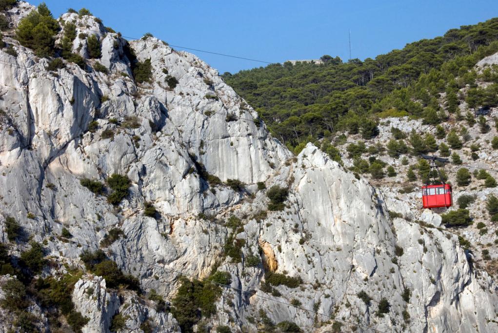 Teleférico de Mont Faron - Toulon - Marsella