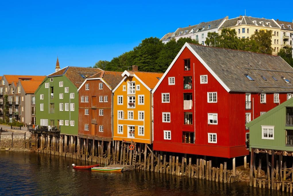 Almacenes del río Nidelva - Trondheim