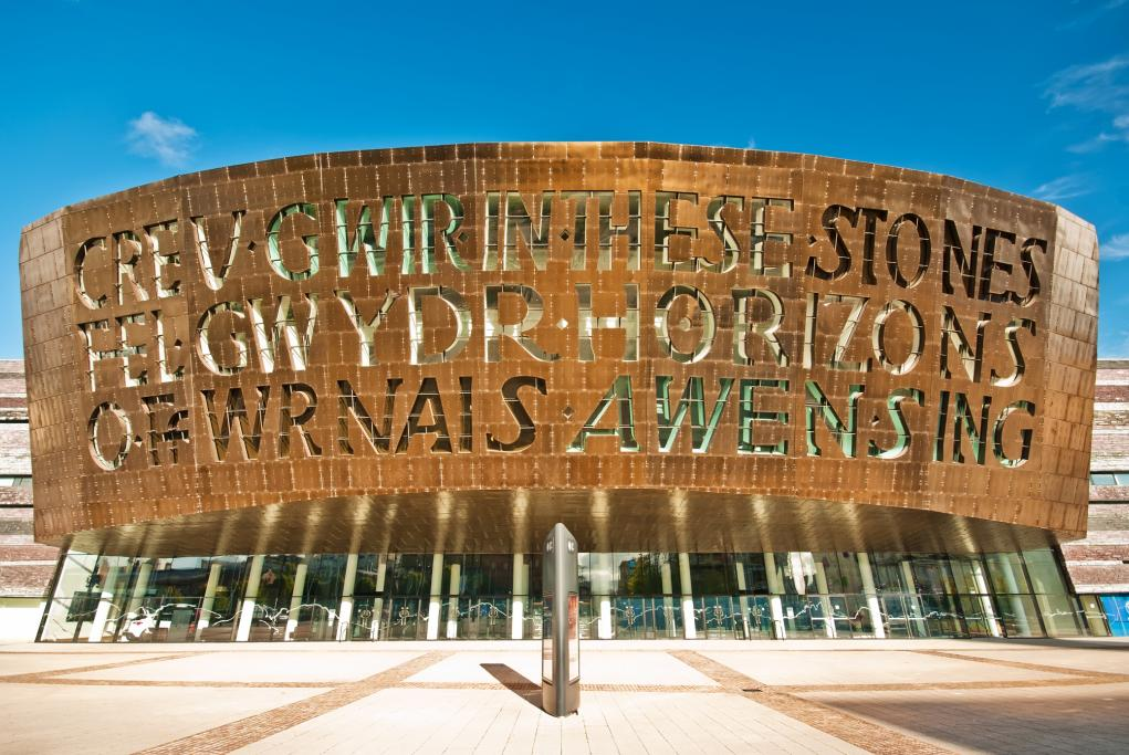 Millennium Center - Cardiff - Gales