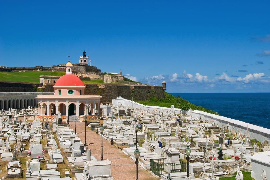 Cementerio Santa María Magdalena de Pazzis - San Juan