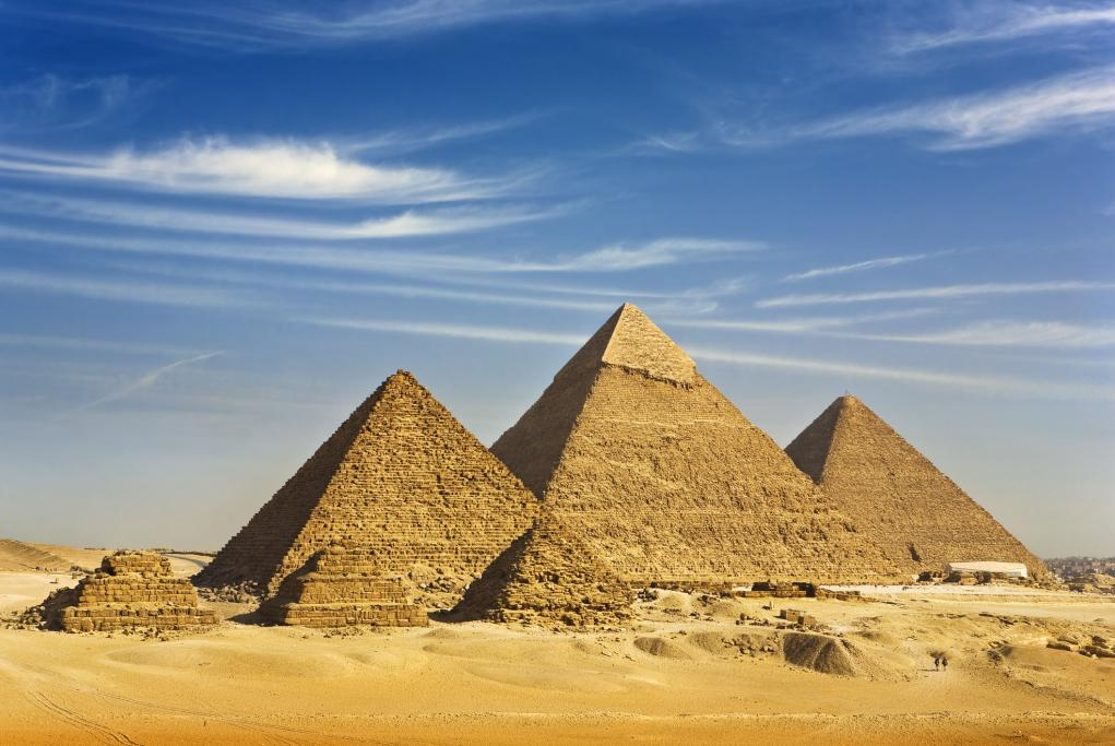Pirámides de Giza - El Cairo