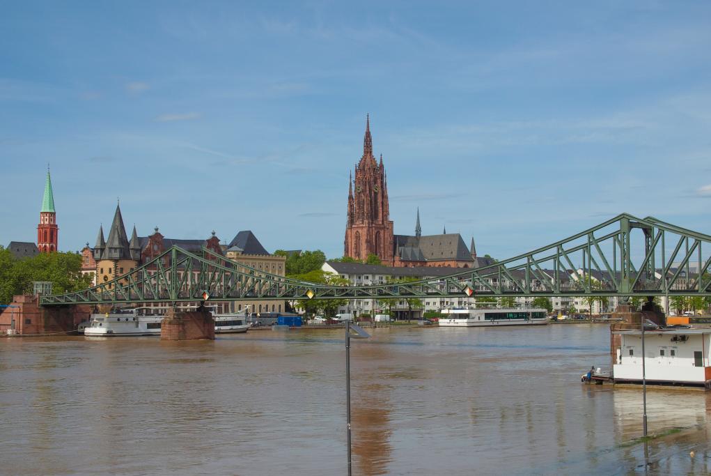 Puente de Hierro - Frankfurt