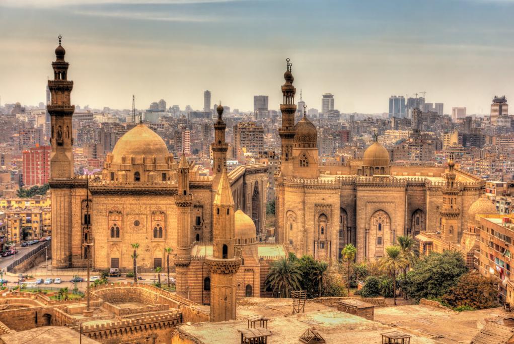 Mezquitas del Sultán Hassan Al-Rifai - El Cairo