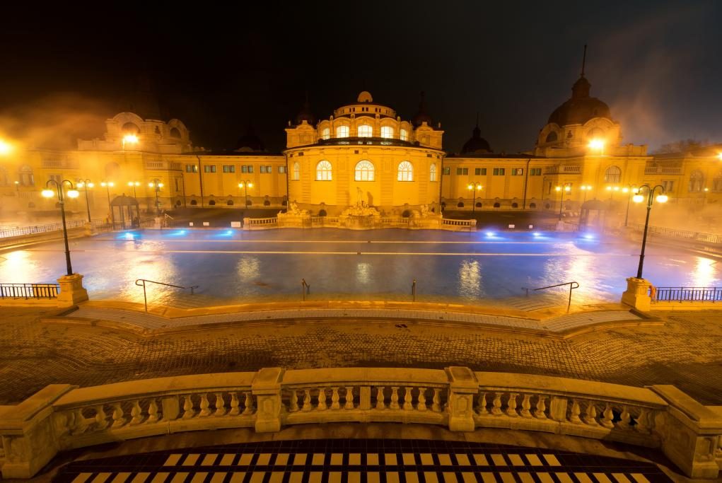 Baños Széchenyi - Budapest