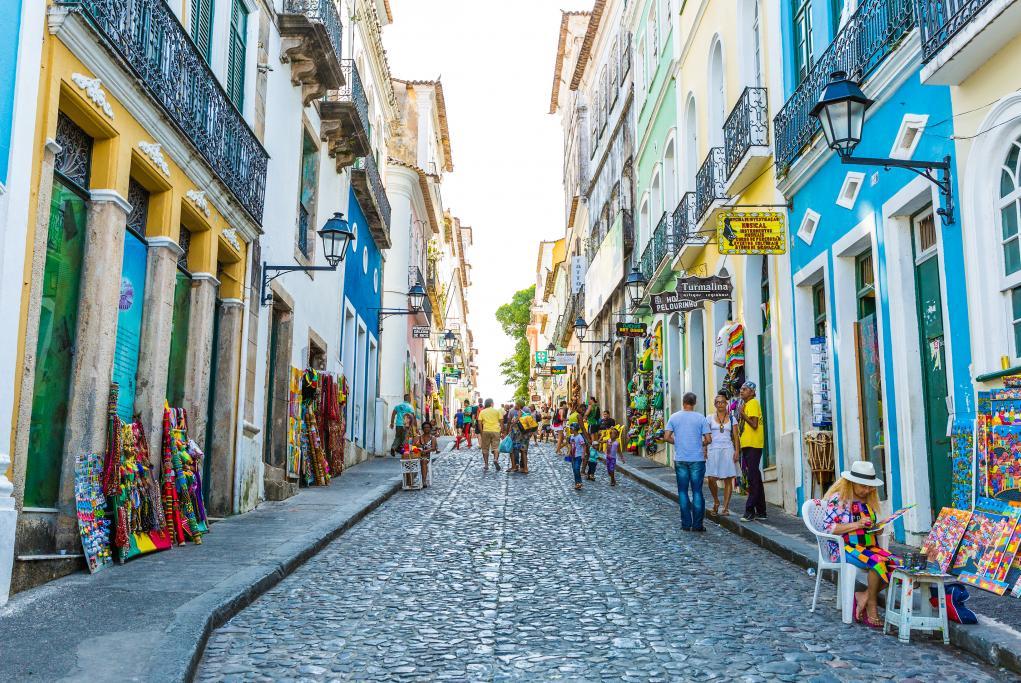 Barrio de Pelourinho - Salvador de Bahía