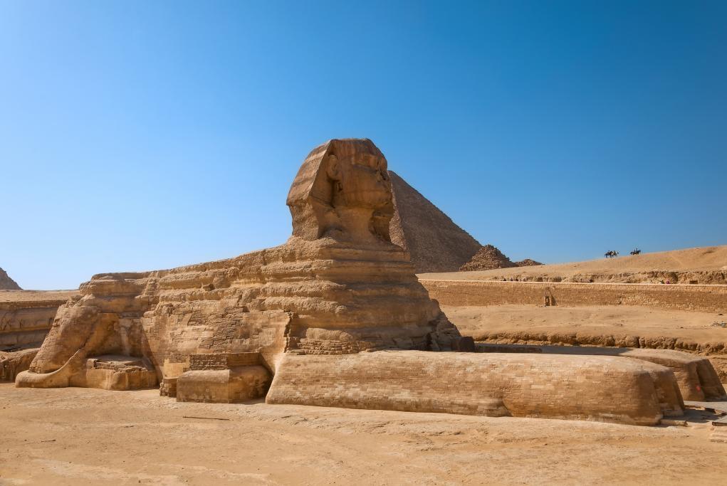 Esfinge - El Cairo
