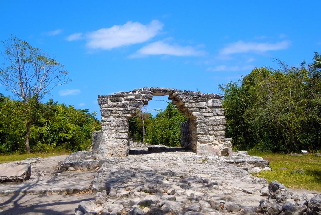 Las ruinas de San Gervasio - Cozumel