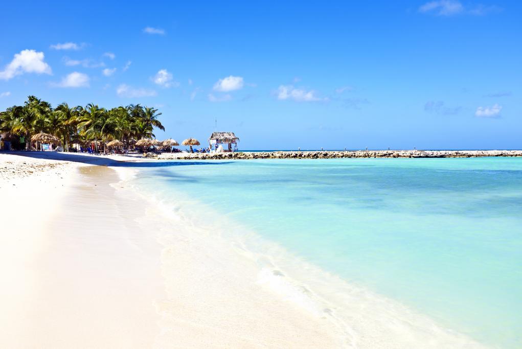 Playa de las Palmeras - Oranjestad