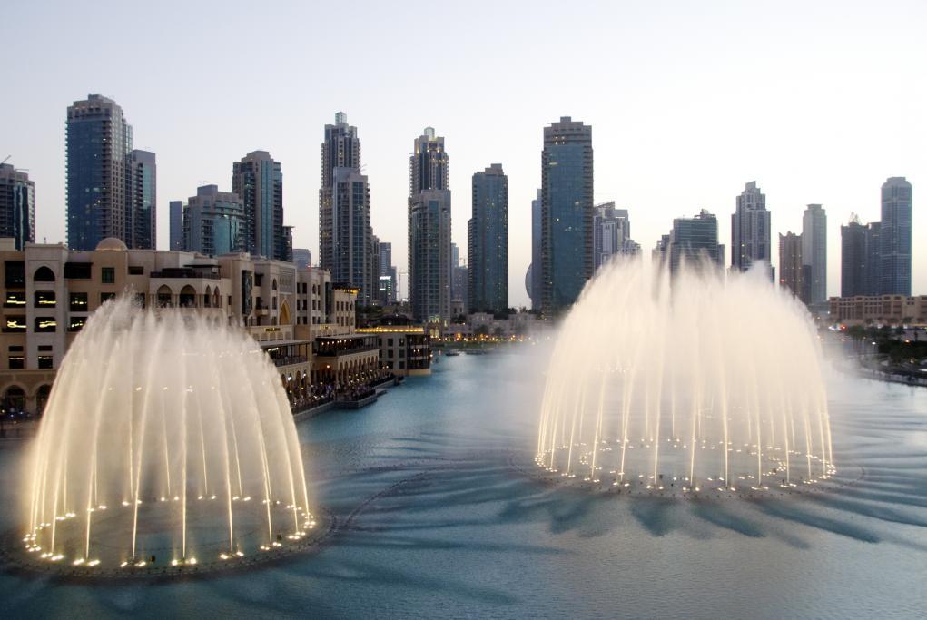 Fuente de Dubai - Dubai