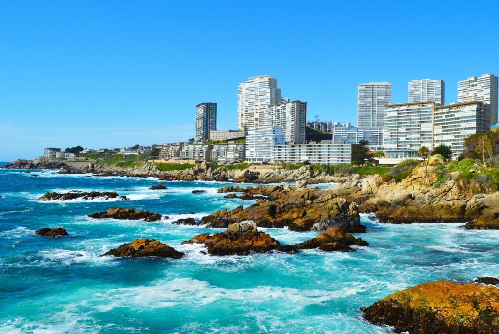 Viña del Mar - Santiago de Chile - Valparaíso