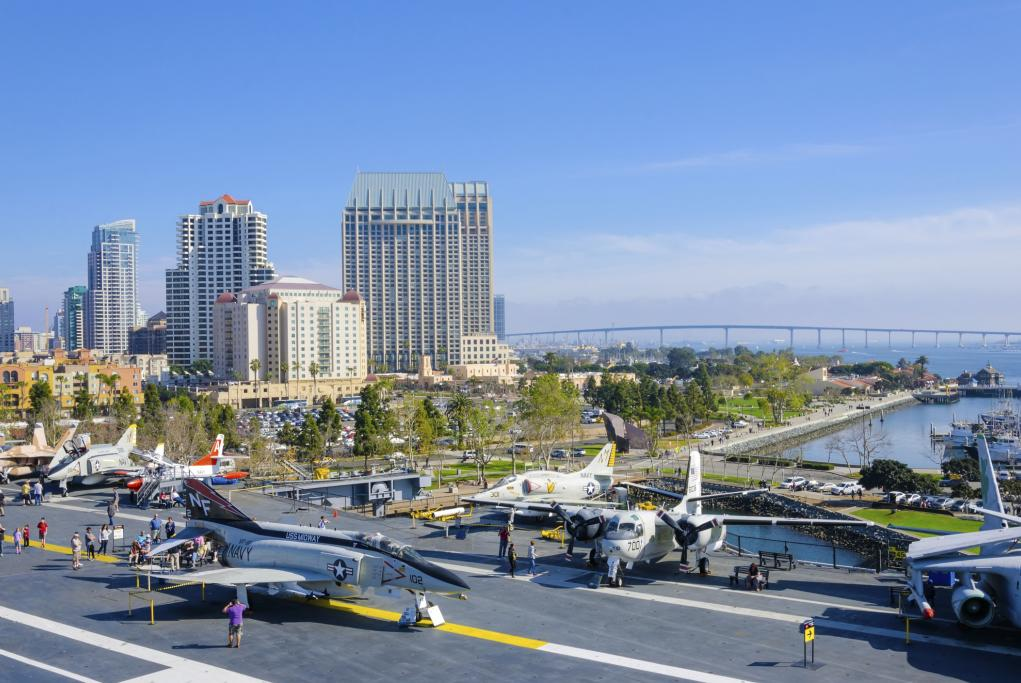 USS Midway Museum - San Diego