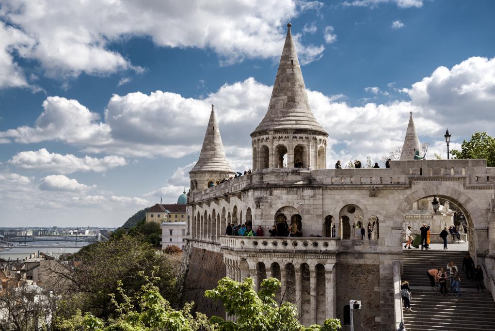 Bastión de los Pescadores - Budapest