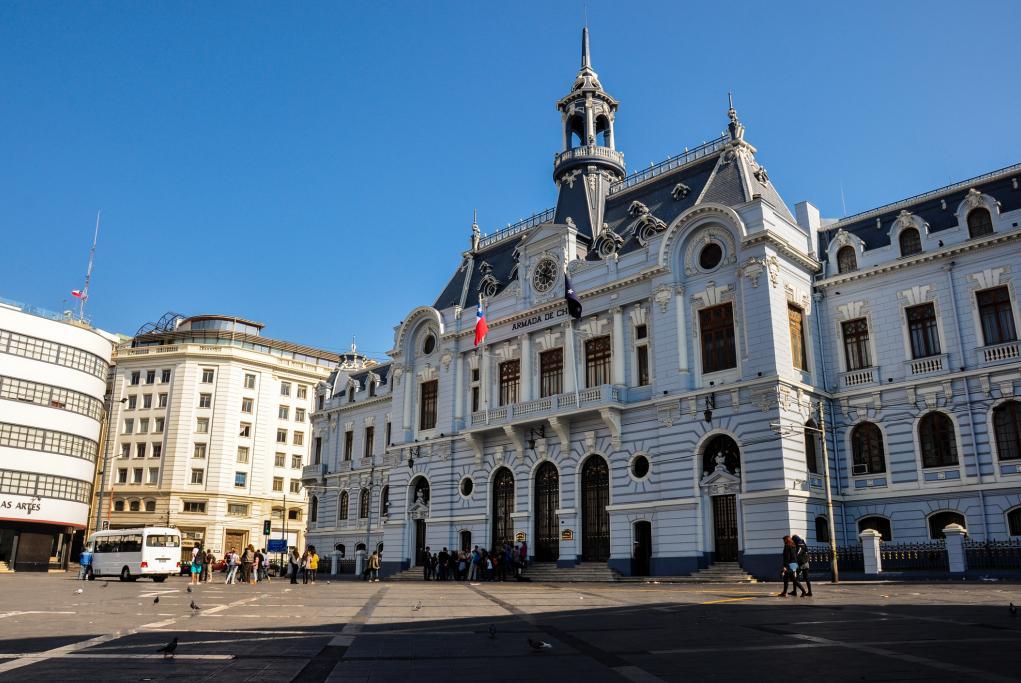 Edificio Armada de Chile - Santiago de Chile - Valparaíso