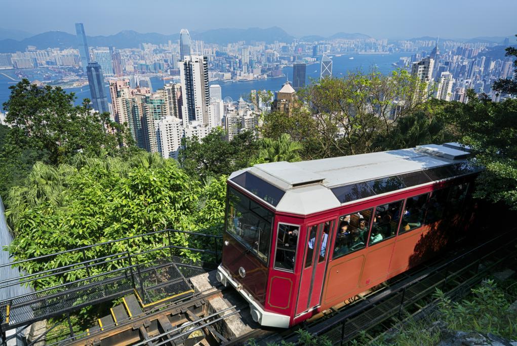 Tranvía al Victoria Peak  - Hong Kong