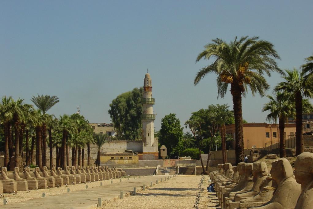 Avenida de las Esfinges - Luxor